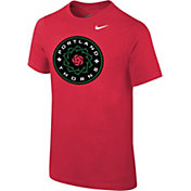 Nike Youth Portland Thorns Primary Logo Red T-Shirt