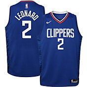 Nike Youth Los Angeles Clippers Kawhi Leonard #2 Royal Dri-FIT Icon Jersey