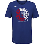 Nike Youth Los Angeles Clippers Dri-FIT Split Logo T-Shirt