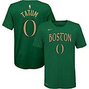 Nike Youth Boston Celtics Jayson Tatum Dri-FIT City Edition T-Shirt