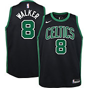 Nike Youth Boston Celtics Kemba Walker #8 Black Dri-FIT Statement Swingman Jersey