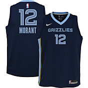 Nike Youth Memphis Grizzlies Ja Morant #12 Navy Dri-FIT Icon Jersey