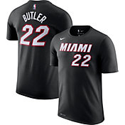 Nike Youth Miami Heat Jimmy Butler #22 Dri-FIT Black T-Shirt