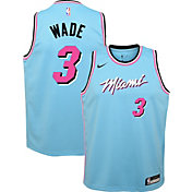 Nike Youth Miami Heat Dwyane Wade Dri-FIT City Edition Swingman Jersey