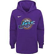 Nike Youth Utah Jazz Hardwood Classic Pullover Hoodie