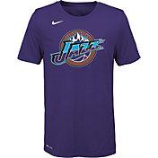 Nike Youth Utah Jazz Dri-FIT Hardwood Classic T-Shirt
