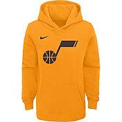 Nike Youth Utah Jazz Yellow Statement Hoodie