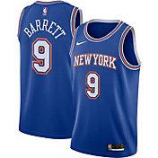 Nike Youth New York Knicks RJ Barrett #9 Navy Statement Dri-FIT Swingman Jersey