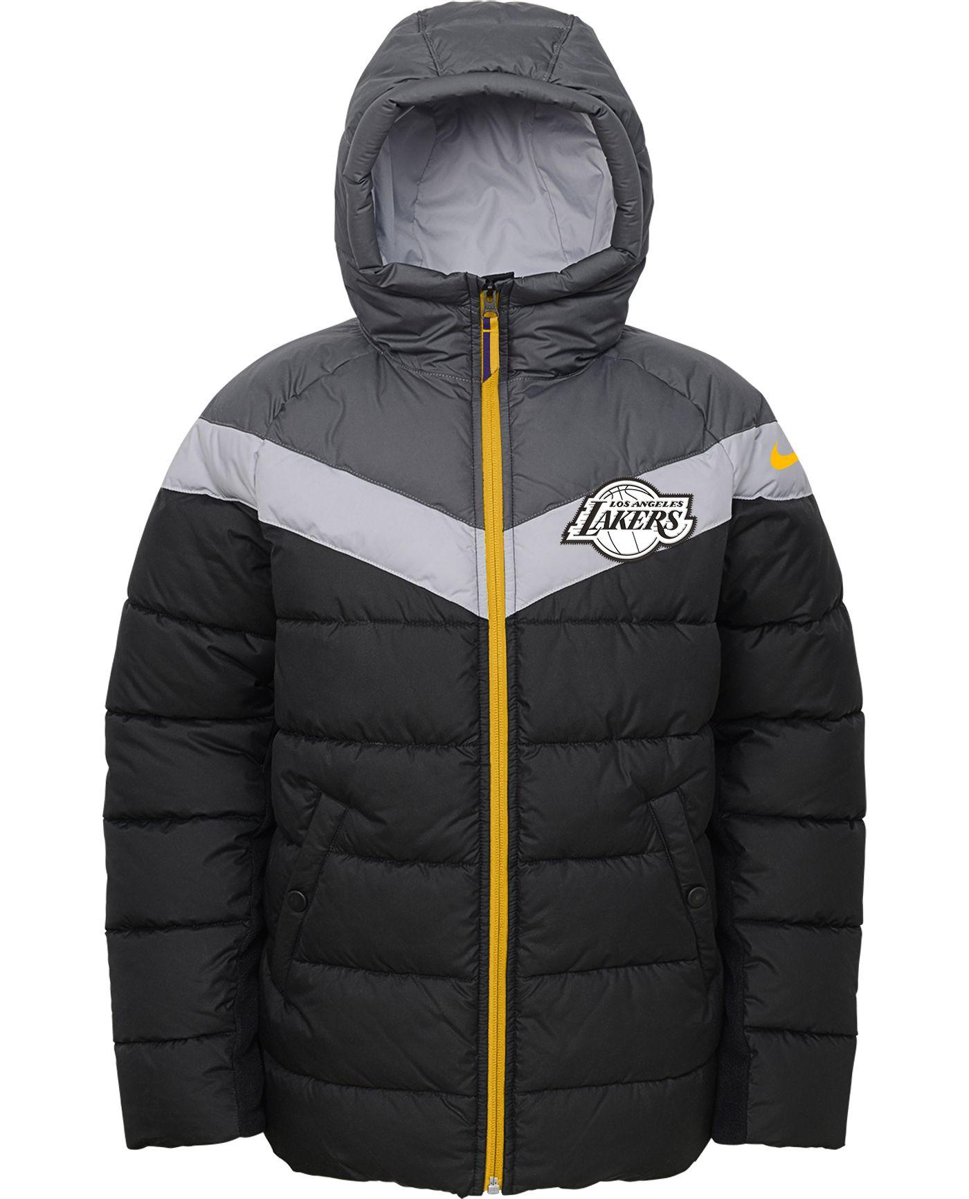 Nike Youth Los Angeles Lakers Puffer Full-Zip Jacket
