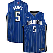 Nike Youth Orlando Magic Mohamed Bamba #5 Royal Dri-FIT Statement Swingman Jersey