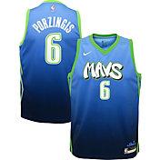 Nike Youth Dallas Mavericks Kristaps Porzingis Dri-FIT City Edition Swingman Jersey