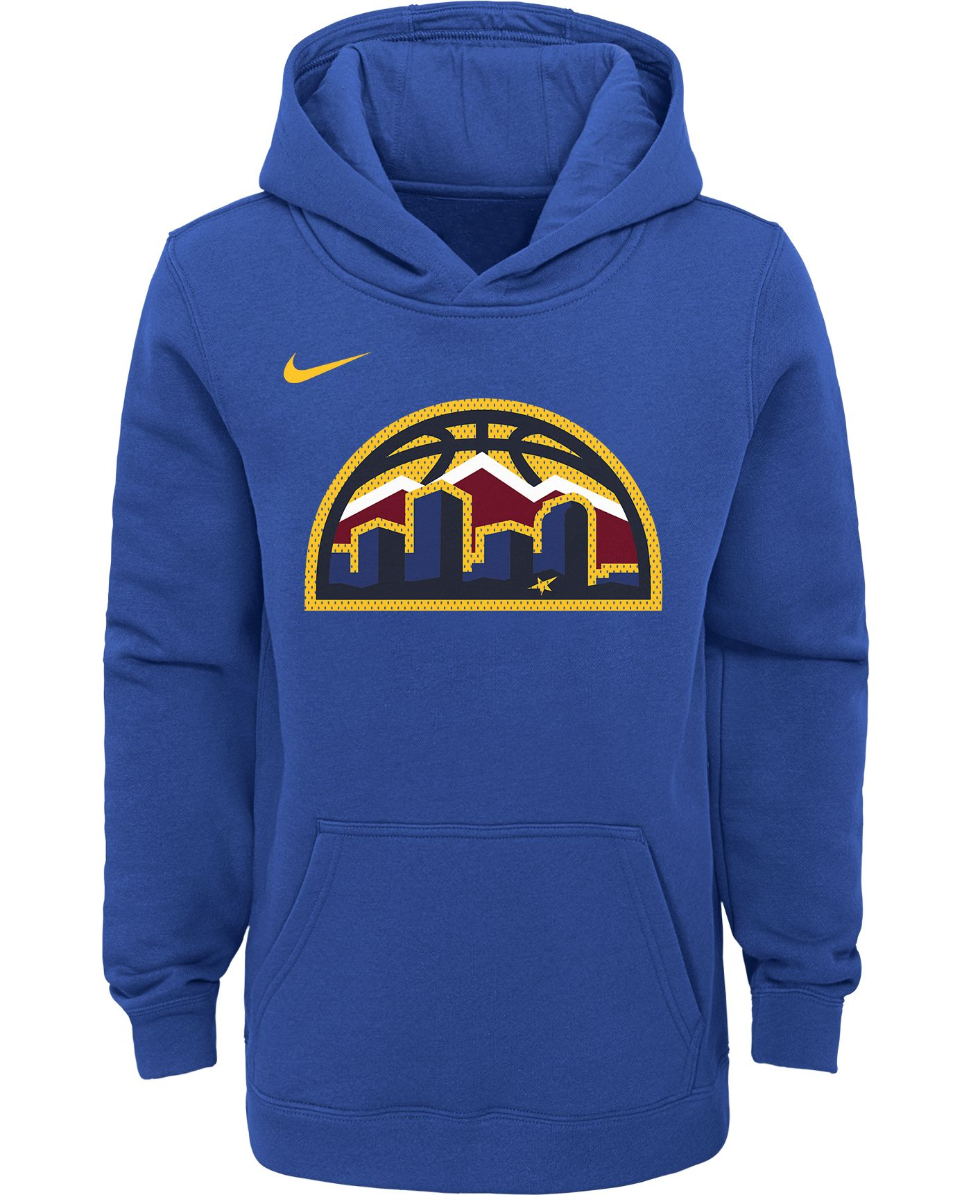 Nike Youth Denver Nuggets Blue Statement Hoodie