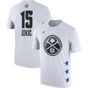 Jordan Youth 2019 NBA All-Star Game Nikola Jokic Dri-FIT White T-Shirt