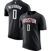 Nike Youth Houston Rockets Russell Westbrook #0 Dri-FIT Statement Black T-Shirt