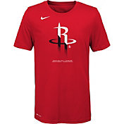 Nike Youth Houston Rockets Dri-FIT Split Logo T-Shirt