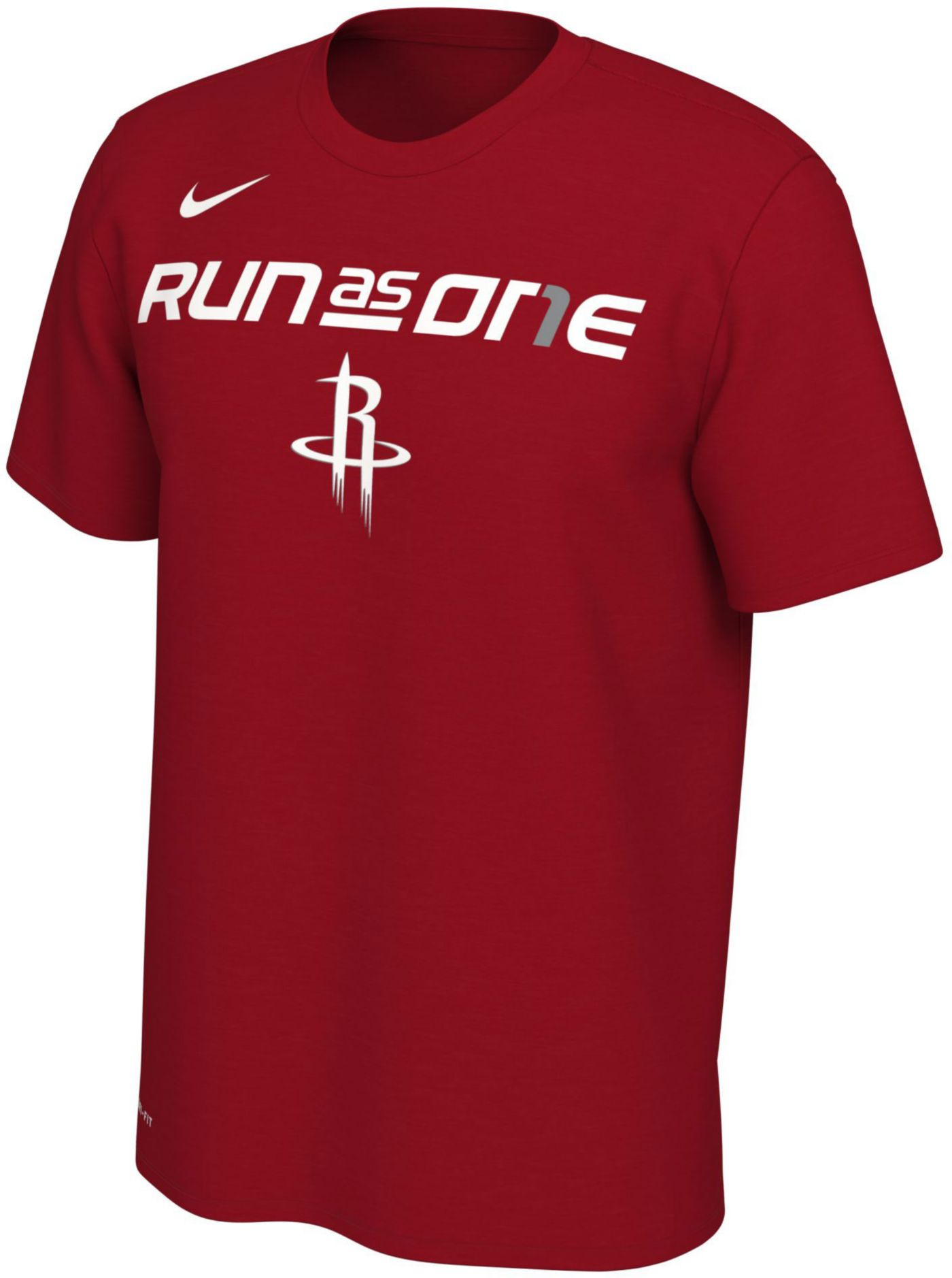 "Nike Youth Houston Rockets 2019 Playoffs ""Run As One"" Dri-FIT T-Shirt"