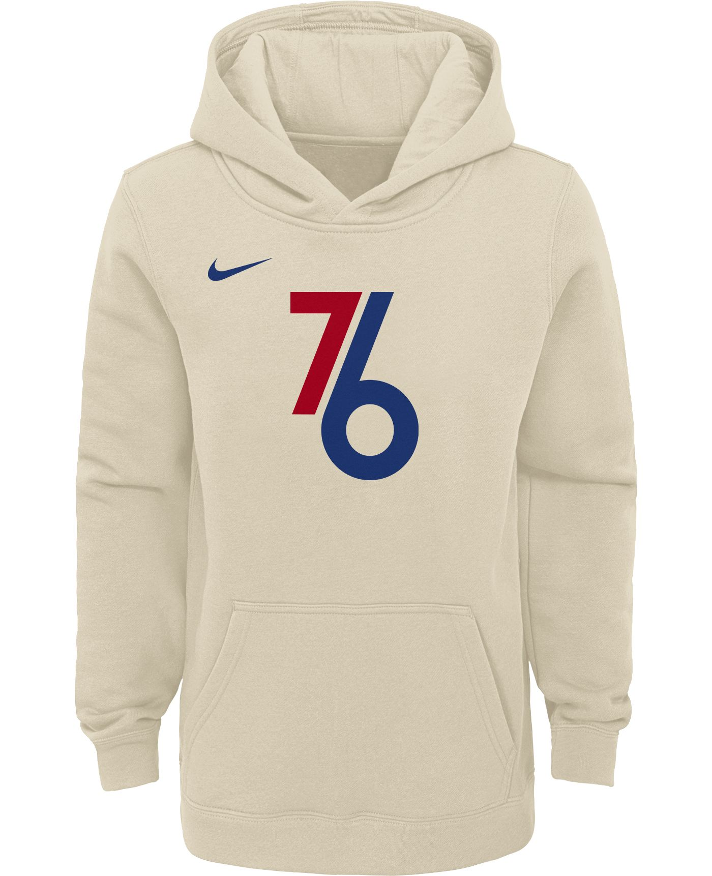 Nike Youth Philadelphia 76ers Dri-FIT City Edition Pullover Hoodie