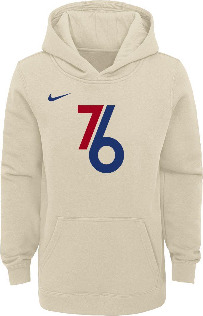 nike philadelphia 76ers hoodie