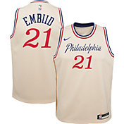 Nike Youth Philadelphia 76ers Joel Embiid Dri-FIT City Edition Swingman Jersey