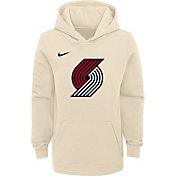 Nike Youth Portland Trail Blazers Dri-FIT City Edition Pullover Hoodie