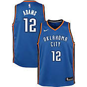 Nike Youth Oklahoma City Thunder Steven Adams #12 Blue Dri-FIT Swingman Jersey
