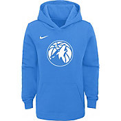 Nike Youth Minnesota Timberwolves Dri-FIT City Edition Pullover Hoodie