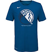 Nike Youth Minnesota Timberwolves Dri-FIT Split Logo T-Shirt