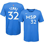 Nike Youth Minnesota Timberwolves Karl-Anthony Towns Dri-FIT City Edition T-Shirt