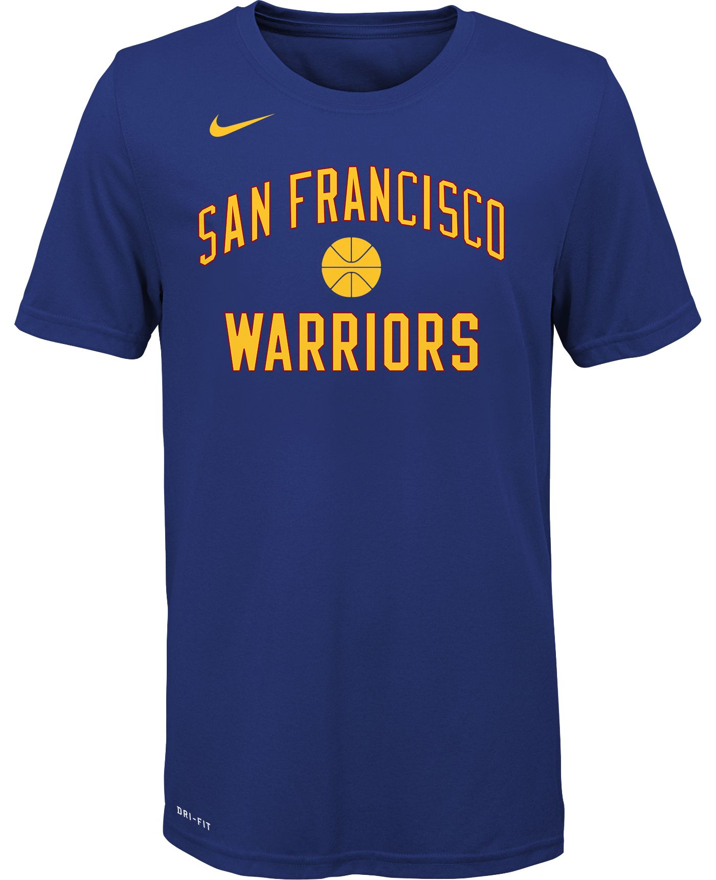 Nike Youth Golden State Warriors Dri-FIT Hardwood Classic T-Shirt
