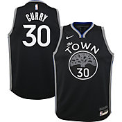 Nike Youth Golden State Warriors Stephen Curry Dri-FIT City Edition Swingman Jersey