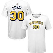Nike Youth Golden State Warriors Stephen Curry #30 Dri-FIT Hardwood Classic T-Shirt