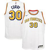 Nike Youth Golden State Warriors Stephen Curry #30 Hardwood Classic Dri-FIT Swingman Jersey