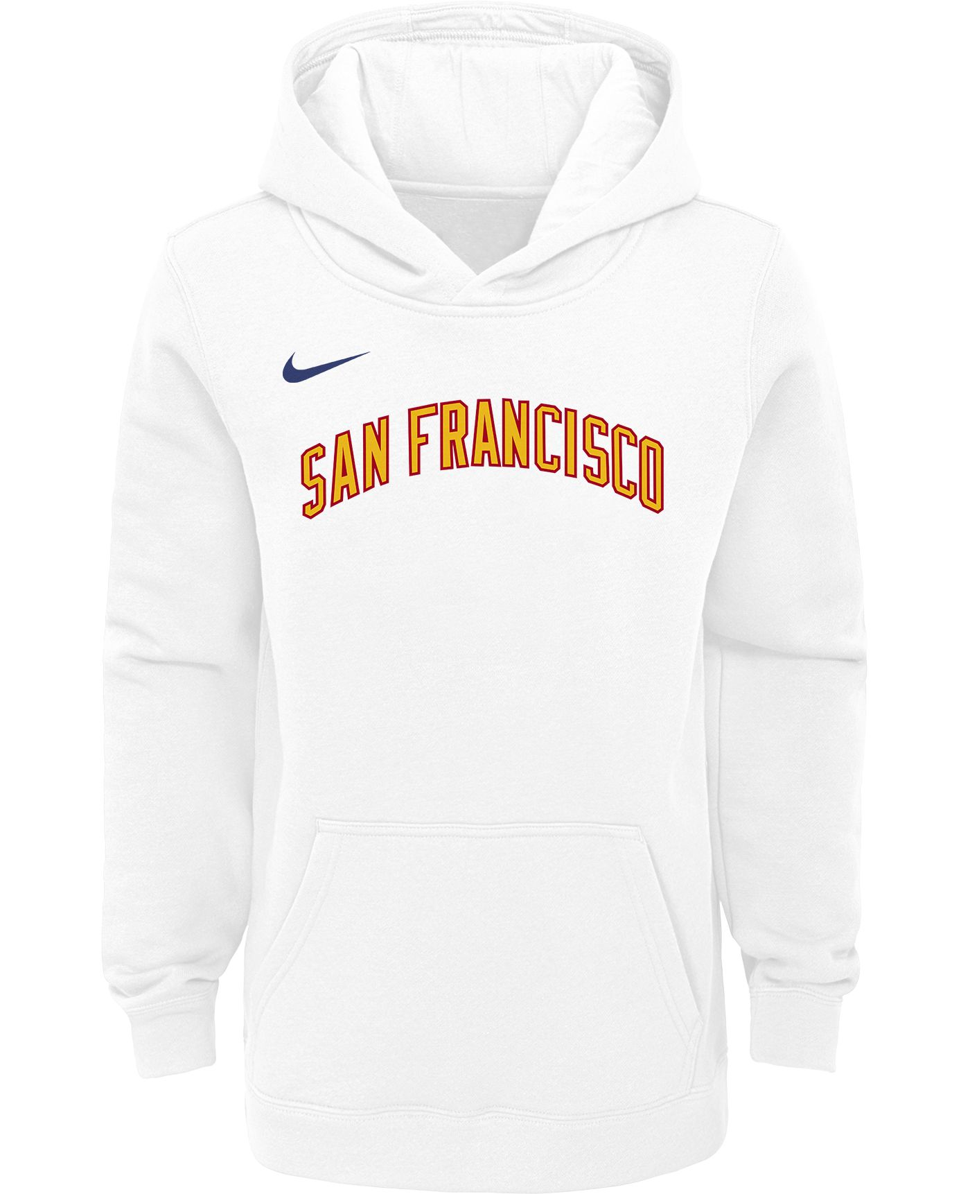 Nike Youth Golden State Warriors Hardwood Classic Pullover Hoodie