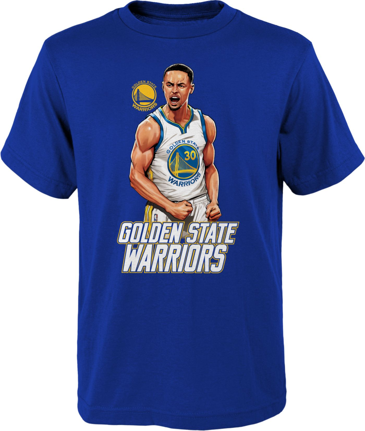 Nike Youth Golden State Warriors Stephen Curry T-Shirt