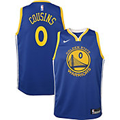 Nike Youth Golden State Warriors DeMarcus Cousins #0 Royal Dri-FIT Swingman Jersey