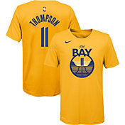 Nike Youth Golden State Warriors Klay Thompson #11 Dri-FIT Statement Gold T-Shirt