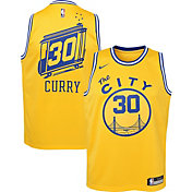 Nike Youth Golden State Warriors Stephen Curry #30 Hardwood Classic Dri-FIT Swingman Jersey