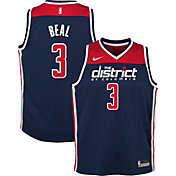 Nike Youth Washington Wizards Bradley Beal #3 Navy Dri-FIT Statement Swingman Jersey