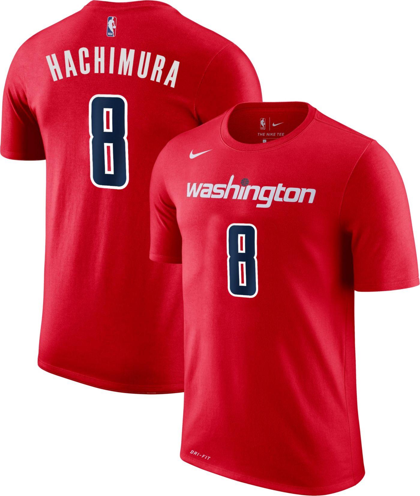 Nike Youth Washington Wizards Rui Hachimura #8 Dri-FIT Red T-Shirt