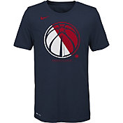 Nike Youth Washington Wizards Dri-FIT Split Logo T-Shirt