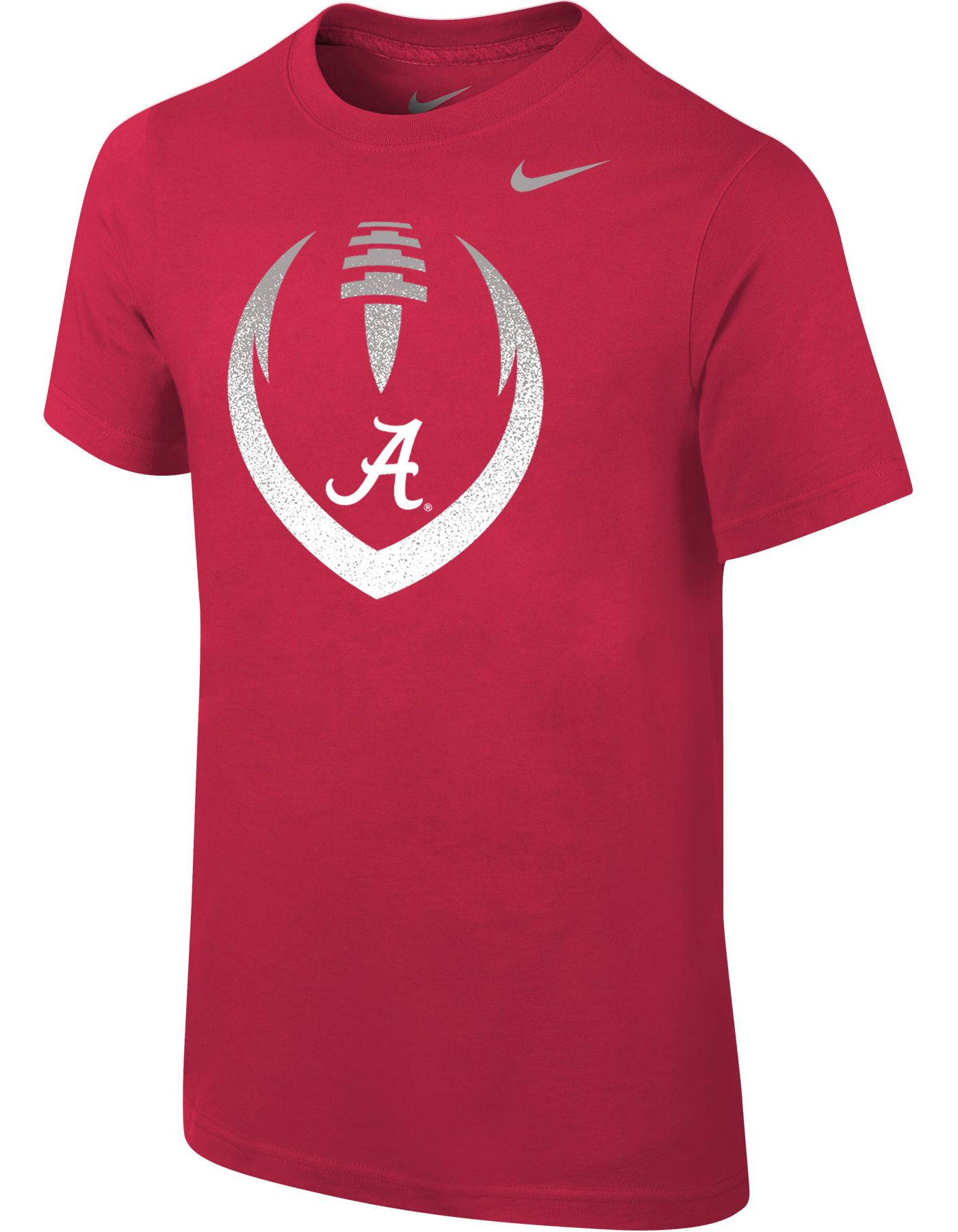 Nike Youth Alabama Crimson Tide Crimson Cotton Football Icon T-Shirt