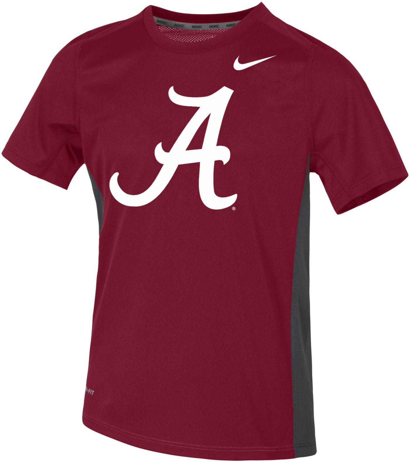 Nike Youth Alabama Crimson Tide Crimson Dri-FIT Miler T-Shirt