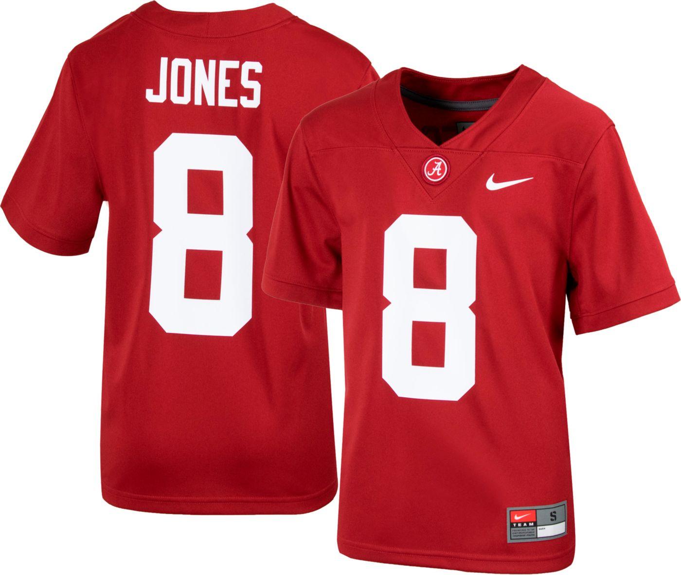Nike Youth Julio Jones Alabama Crimson Tide #8 Crimson Replica Football Jersey