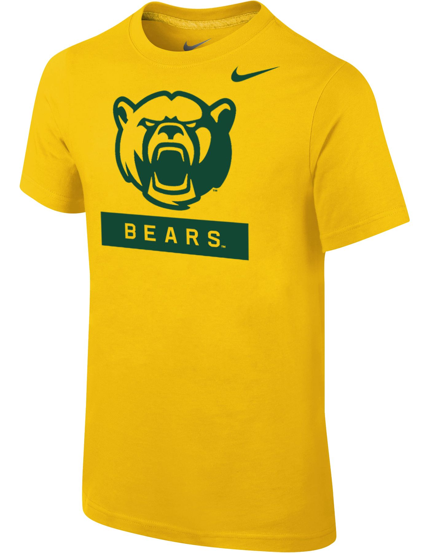 Nike Youth Baylor Bears Gold Core Cotton T-Shirt
