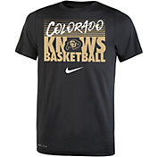 Nike Youth Colorado Buffaloes Basketball Phrase Black T-Shirt