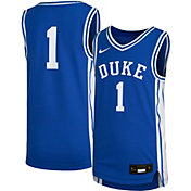 Nike Youth Duke Blue Devils #1 Duke Blue Replica Basketball Jersey
