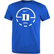 Nike Youth Duke Blue Devils Duke Blue Legend Basketball Key T-Shirt
