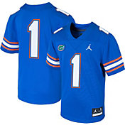 Jordan Boys' Florida Gators #1 Blue Replica Football Jersey