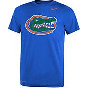 Nike Youth Florida Gators Blue Dri-FIT Legend 2.0 T-Shirt