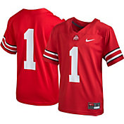 Nike Youth Ohio State Buckeyes #1 Scarlet Replica Football Jersey